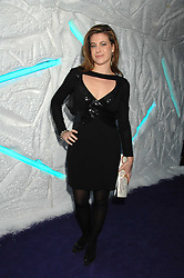 FRANCESCA VERSACE at La Dolce Vita Christmas Ball in aid of DeBRa held at Battersea's Evolution, Battersea Park, London on 12th December 2007.<br /><br />NON EXCLUSIVE - WORLD RIGHTS