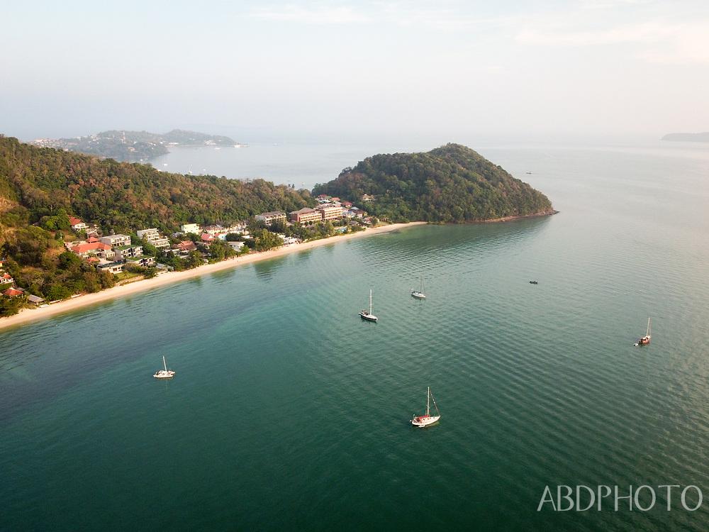 DCIM\100MEDIA\DJI_0081.JPG Drone over Phuket Thailand Cape Panwa