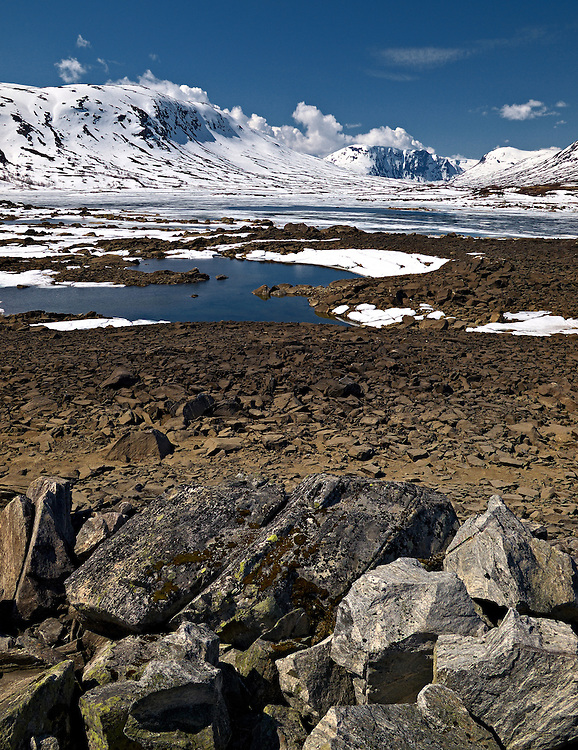 Norway - Breiddalsvatnet lake in Jotunheimen