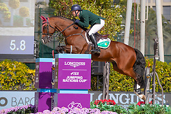 Condon Anthony, IRL, Aristio<br /> Longines FEI Jumping Nations Cup™ Final<br /> Barcelona 20128<br /> © Hippo Foto - Dirk Caremans<br /> 07/10/2018