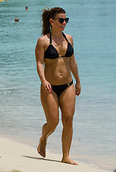 EXCLUSIVE: Coleen Rooney and family are spotted on the beach in Barbados. 24 May 2017 Pictured: Coleen Rooney. Photo credit: Shakeira Farnum-Islandpaps.com/MEGA TheMegaAgency.com +1 888 505 6342
