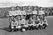 23/04/1961<br /> 04/23/1961<br /> 23 April 1961<br /> F.A.I. Cup Final: St. Patrick's Athletic v Drumcondra at Dalymount Park, Dublin. The Drumcondra team.