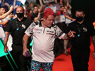 Joe Cullen during the PDC BetVictor World Matchplay Darts 2021 tournament at Winter Gardens, Blackpool, United Kingdom on 21 July 2021.