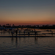 Crews early morning pre-race training <br /> <br /> Semi - Final races at the World Championships, Sarasota, Florida, USA ThursdaY 28 September 2017. Copyright photo © Steve McArthur / www.photosport.nz