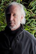 Peter Menzel in Berkeley, CA/ test shots on David Salesin's back porch