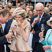 NLD/Maastricht/20140830 - Festivities on the occasion of the 200th jubilee of the Kingdom of the Netherlands in Maastricht - 200 Jaar Koninkrijk der Nederlanden, Groothertog Henri en Groothertogin, Queen Mathilde van België and Daniela Schadt