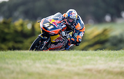 October 22, 2016 - Melbourne, Victoria, Australia - South African rider Brad Binder (#41) of Red Bull KTM Ajo in action during the 3rd Moto3 Free Practice session at the 2016 Australian MotoGP held at Phillip Island, Australia. (Credit Image: © Theo Karanikos via ZUMA Wire)