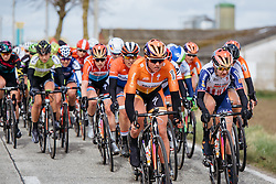 Chantal Blaak picks up the pace - Women's Gent Wevelgem 2016, a 115km UCI Women's WorldTour road race from Ieper to Wevelgem, on March 27th, 2016 in Flanders, Netherlands.