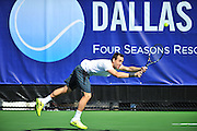 Bobby Reynolds of the United States competes during the Dallas Tennis Classic at the Four Seasons in Las Colinas on Wednesday, March 13, 2013. (Cooper Neill/The Dallas Morning News)