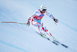 27.12.2013, Stelvio, Bormio, ITA, FIS Ski Weltcup, Bormio, Abfahrt, Herren, 1. Traininglauf, im Bild Johan Clarey (FRA) // Johan Clarey of France in action during mens 1st downhill practice of the Bormio FIS Ski Alpine World Cup at the Stelvio Course in Bormio, Italy on 2012/12/27. EXPA Pictures © 2013, PhotoCredit: EXPA/ Johann Groder