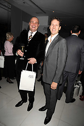 Left to right, AL MURRAY and BRENDAN COLE at a reception before the launch of the English National Ballet Christmas season launch of The Nutcracker held at the St,Martins Lane Hotel, London on 5th December 2008.