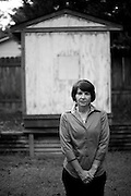 8/16/10 7:38:47 -- Athens, GA<br /> Kris Bakowski at her home in Athens, GA.  Kris was diagnosed with Alzheimer's in 2002 at age of 46.<br /> <br /> <br /> Photo by Michael  A. Schwarz,
