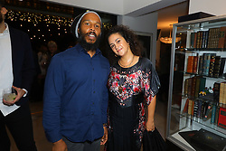 Ziggy Marley and guest at Creative Community For Peace 2nd Annual 'Ambassadors Of Peace' Gala held at Los Angeles on September 26, 2019 in Private Residence, California, United States (Photo by © Jc Olivera/VipEventPhotography.com
