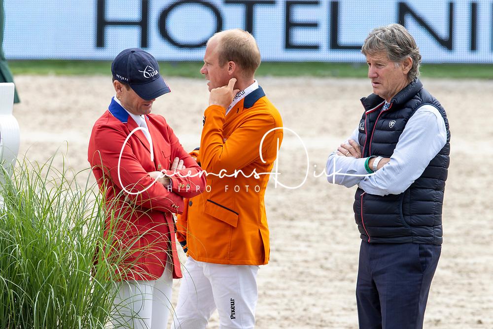 Ward McLain, Greve Willem, Ridland Robert<br /> CHIO Rotterdam 2021<br /> © Dirk Caremans<br />  02/07/2021