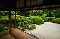 Japon, île de Honshu, région de Kansaï, Kyoto, temple Shisen-do // Japan, Honshu island, Kansai region, Kyoto, Shisen-do temple