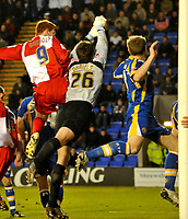 Photo: Paul Greenwood/Richard Lane Photography. Shrewbury Town v Wycombe Wanderers. Coca Cola Two. 20/12/2008. <br />