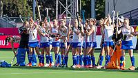 ANTWERP - BELFIUS EUROHOCKEY Championship.  women  England v Belarus (4-3) . line up England.   WSP/ KOEN SUYK