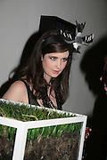 Anna Singleton, ' Show Off' Theo Fennell exhibition co-hosted wit Vanity Fair. Royal Academy. Burlington Gdns. London. 27 September 2007. -DO NOT ARCHIVE-© Copyright Photograph by Dafydd Jones. 248 Clapham Rd. London SW9 0PZ. Tel 0207 820 0771. www.dafjones.com.