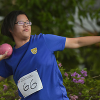 Tan Xin Ning of Victoria Junior College finished eighth in the A Division Girls Finals with a final distance of 7.51m. (Photo © Stefanus Ian/Red Sports)