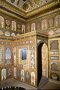 TURKEY, ISTANBUL Topkapi Palace, in the Harem; the Fruit Room of Ahmet III, with paintings to entice the Sultan to eat