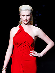 Ireland Baldwin walks the The Red Dress Collection Runway during the MBFW Fall/Winter 2014 shows in Lincoln Center New York City, New York on February 6, 2014. Photo by Donna Ward/ABACAPRESS.COM    432804_002 New York City Etats-Unis United States