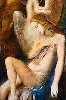 """France, Paris, Musée Gustave Moreau, 14 rue de la Rochefoucauld, """"Leda"""" // France, Paris, Gustave Moreau museum, """"Leda"""""""