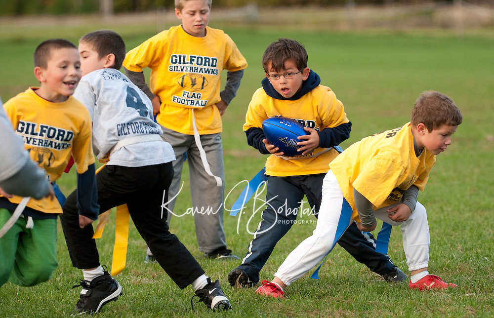 Gilford Silver Hawks Flag Football October 4, 2010
