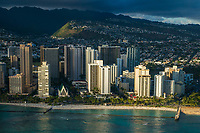 Kuhio Beach Park & St. Augustine Church, Waikiki