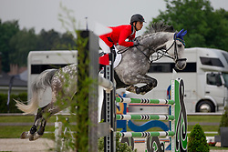 Sturzenegger Henri, (SUI), Cronos II<br /> Class 16 Nations Cup YR<br /> International Competition CSIO Young Riders Opglabbeek 2016<br /> © Dirk Caremans