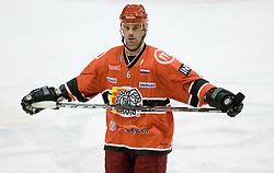 Todd Elik of Acroni Jesenice at 28th Round  ice hockey match of EBEL league between HK Acroni Jesenice and HDD Tilia Olimpija Ljubljana, on December 4, 2009, in Arena Podmezaklja, Jesenice, Slovenia. Olimpija defeated Jesenice 8-7. (Photo by Vid Ponikvar / Sportida)