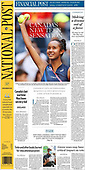 September 08, 2021 - CANADA: Front-page: Today's Newspapers In Canada