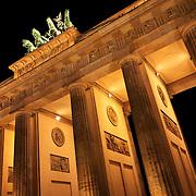 Brandenburger Tor Berlin Germany.Brandenburger Arch Berlin Germany