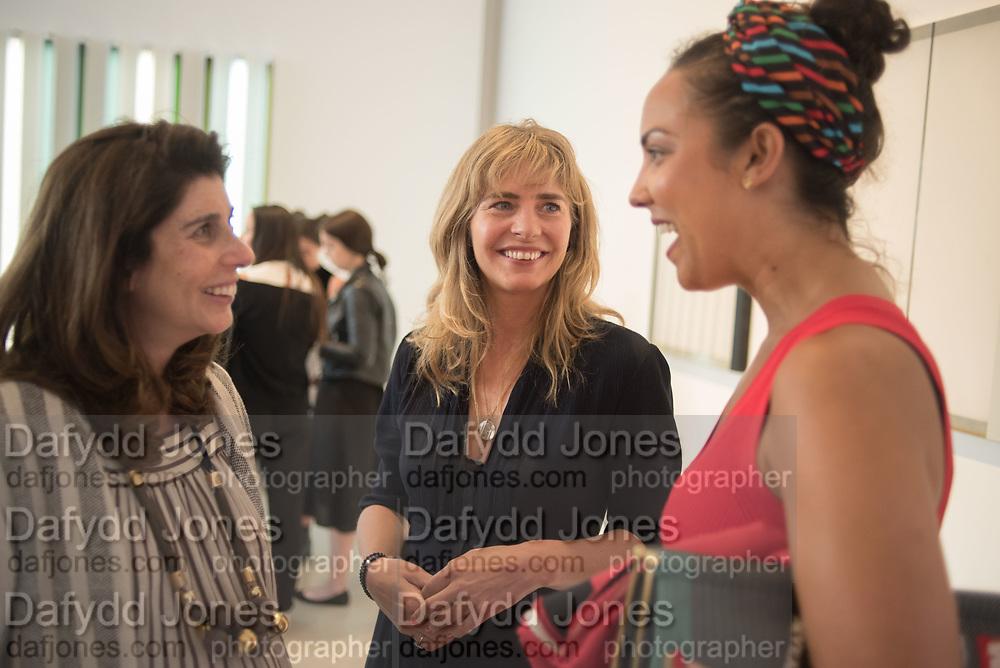 TAMARA CORN; PHILLY ADAMS; PRINCESS ALIA AL SENUSSI, Mollie Dent-Brocklehurst and Mark Davy host an evening in celebration of Future/Pace. London SW6, May 22 2018