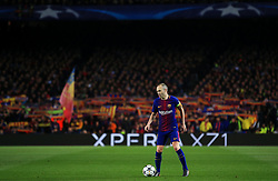 Andres Iniesta of Barcelona - Mandatory by-line: Matt McNulty/JMP - 14/03/2018 - FOOTBALL - Camp Nou - Barcelona, Catalonia - Barcelona v Chelsea - UEFA Champions League - Round of 16 Second Leg