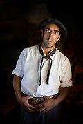 Portrait of Gaucho, Estancia La Bamba De Areco, Pampas, Argentina, South America