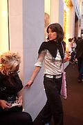 BELLA FREUD, Louis Vuitton openingof New Bond Street Maison. London. 25 May 2010. -DO NOT ARCHIVE-© Copyright Photograph by Dafydd Jones. 248 Clapham Rd. London SW9 0PZ. Tel 0207 820 0771. www.dafjones.com.