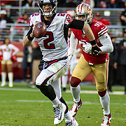Dec 15 2019  Santa Clara, CA  U.S.A   Atlanta Falcons quarterback Matt Ryan (2) runs with the ball during the NFL Football game between the Atlanta Falcons and the San Francisco 49ers 29-22 win at Levi Stadium San Francisco Calif. Thurman James / CSM