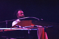 Garth Hudson with The Band. In performance at the Westchester Premier Theater on the 13th of July 1976