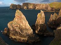 Ireland Donegal coast Tory island rugged coast
