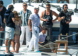 EXCLUSIVE: River dance star Michael Flatley in Barbados, shooting scenes from his first feature-length film, which he is financing, directing - and starring in. The move also features Hollywood star Eric Roberts – a brother of Pretty Woman star Julia – who plays the bad guy opposite Flattery's martini-loving Lothario in the spy thriller. The Irish celebrity dancer, 58, has taken over the exclusive Cliff restaurant to film the movie, in which he plays a retired spy. 20 Nov 2017 Pictured: Michael Flatley. Photo credit: Tanya Boyce-Islandpaps.com/MEGA TheMegaAgency.com +1 888 505 6342