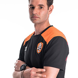 BRISBANE, AUSTRALIA - NOVEMBER 10: Chris Grossman of the Roar poses for a photo during the Brisbane Roar Youth headshot session at QUT Kelvin Grove on November 10, 2017 in Brisbane, Australia. (Photo by Patrick Kearney / Brisbane Roar)