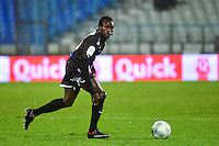 Mouhamadou DIAW   - 19.12.2014 - Auxerre / Niort - 18e journee Ligue 2<br /> Photo : Dave Winter / Icon Sport