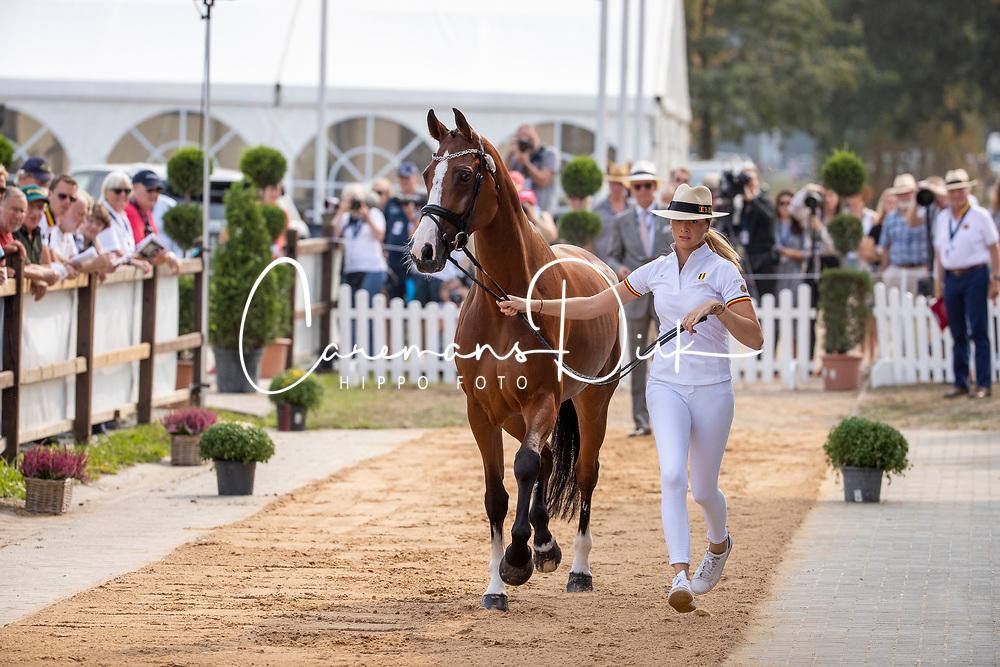 Loge Laura, BEL, Absolute Allegro<br /> European Championship Eventing<br /> Luhmuhlen 2019<br /> © Hippo Foto - Stefan Lafrentz