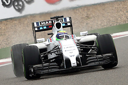 19.04.2014, International Circuit, Shanghai, CHN, FIA, Formel 1, Grand Prix von China, Qualifying Tag, im Bild Felipe Massa (BRA) Williams FW36. // during the Qualifyingday of Chinese Formula One Grand Prix at the International Circuit in Shanghai, China on 2014/04/19. EXPA Pictures © 2014, PhotoCredit: EXPA/ Sutton Images/ Mina<br /> <br /> *****ATTENTION - for AUT, SLO, CRO, SRB, BIH, MAZ only*****