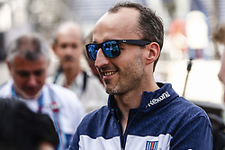 May 23, 2018 - Montecarlo, Monaco - 40 Robert Kubica from Poland Williams F1 Mercedes FW41 portrait during the Monaco Formula One Grand Prix  at Monaco on 23th of May, 2018 in Montecarlo, Monaco. (Credit Image: © Xavier Bonilla/NurPhoto via ZUMA Press)