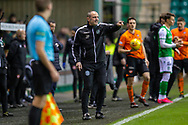 Hibernian assistant manager, John Potter during the William Hill Scottish Cup fourth round match between Hibernian FC and Dundee United FC at Easter Road Stadium, Edinburgh, Scotland on 28 January 2020.