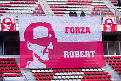 February 18, 2019 - Montmelo, BARCELONA, Spain - Fans supporting Robert Kubica from Poland with 88 Williams Racing  during the Formula 1 2019 Pre-Season Tests at Circuit de Barcelona - Catalunya in Montmelo, Spain on February 18. (Credit Image: © AFP7 via ZUMA Wire)