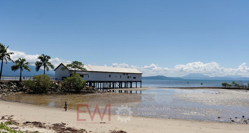 Port Douglas jetty.  Northern Queensland