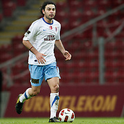Trabzonspor's Selcuk INAN during their Turkish superleague soccer derby match Galatasaray between Trabzonspor at the TT Arena in Istanbul Turkey on Sunday, 10 April 2011. Photo by TURKPIX
