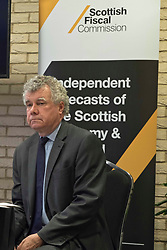 Pictured: Professor Alasdair Smith<br /> <br /> The Scottish Fiscal Commission team, led by Dame Susan Rice, met journalists today and gave a short presentation on their five-year economic forecasts following the Scottish budget announcement.<br /> <br /> Ger Harley | EEm 13 December 2018